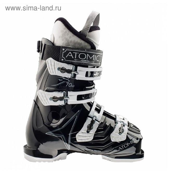 Atomic Г/л ботинки HAWX 1.0 R70 W Black/Metallic Silver 25,5
