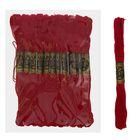 Мулине, № 498, 8±1м, цвет бордовый
