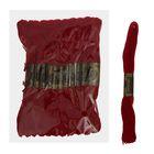 Мулине, № 815, 8±1м, цвет тёмно-бордовый