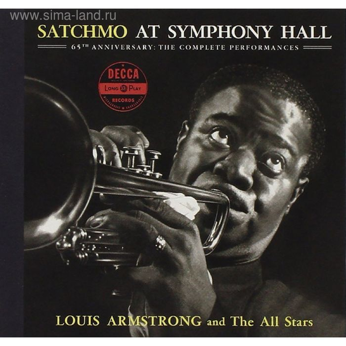 Виниловая пластинка Louis Armstrong And The All Stars - Satchmo At Symphony Hall Vol.2