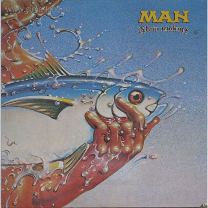Виниловая пластинка Man - Slow Motion