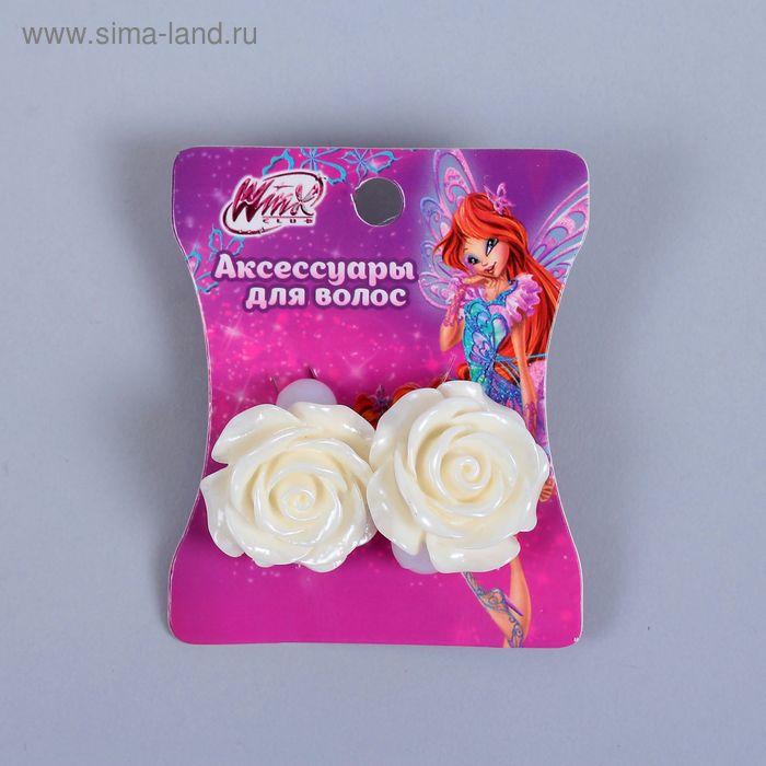 Набор резинок с розочкой Феи ВИНКС, 2 шт., 6 х 7,2 см