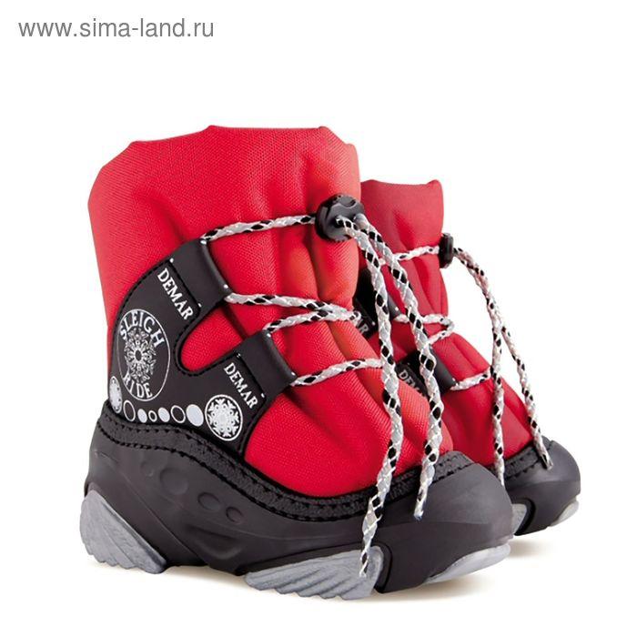 Сапоги Demar Snow Ride, размер 24/25, цвет красный (арт.4016 C)