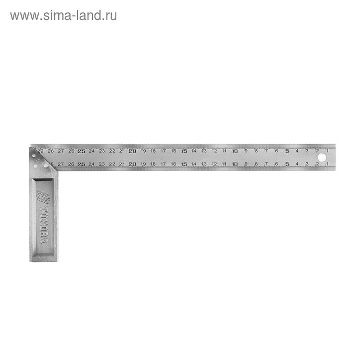 Угольник металлический TUNDRA basic, 300 мм
