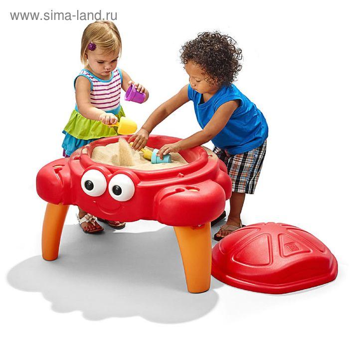 """Столик для игр с песком """"Крабик"""""""