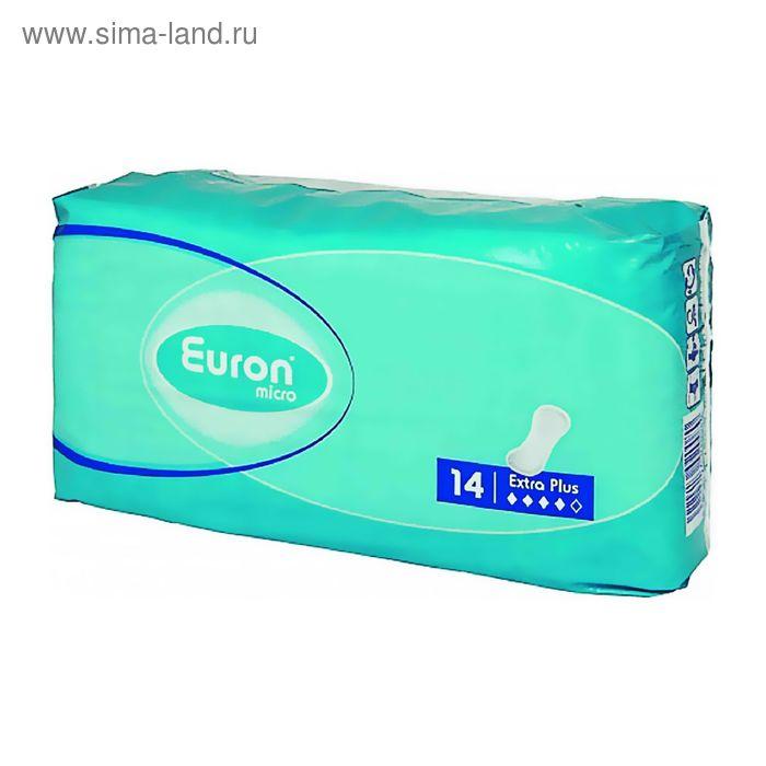 Прокладки Euron Micro Extra Plus послеродовые и урологические, 14 шт
