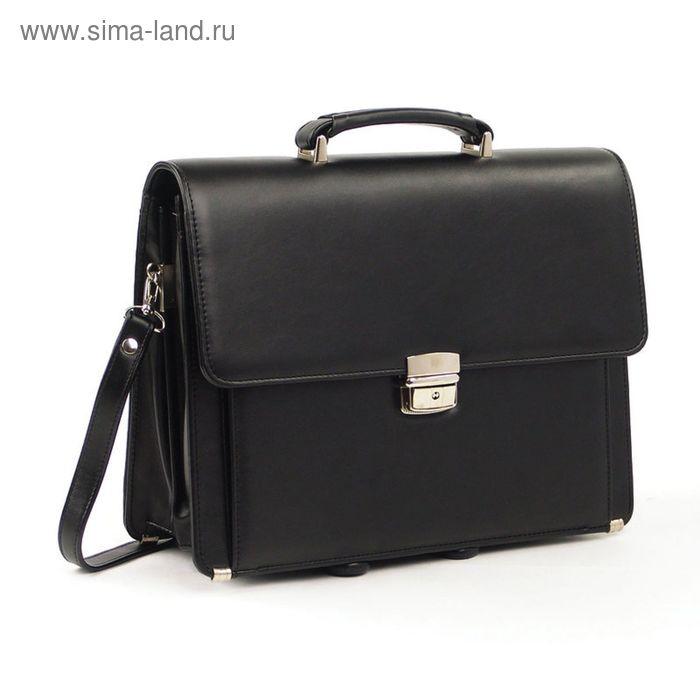 Портфель «Оптима», чёрный