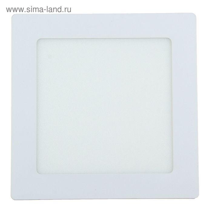 Панель квадратная встраиваемая 170х170 мм, 12 W, LED-60-2835-840Lm-4000К-120deg-160-260V