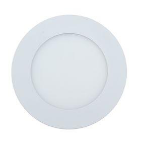 Панель круглая встраиваемая D 120 мм, 6 W, LED-30-2835-420Lm-4000К-120deg-160-260V