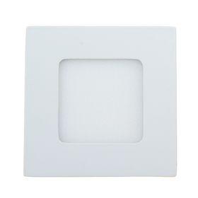 Панель квадратная встраиваемая 85х85 мм, 3 W, LED-15-2835-210Lm-4000К-120deg-160-260V