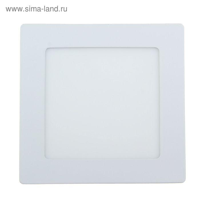 Панель квадратная встраиваемая 145х145 мм, 9 W, LED-45-2835-630Lm-4000К-120deg-160-260V