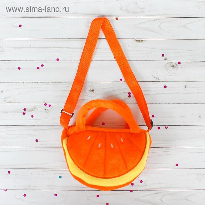 """Мягкая сумочка """"Апельсин"""""""