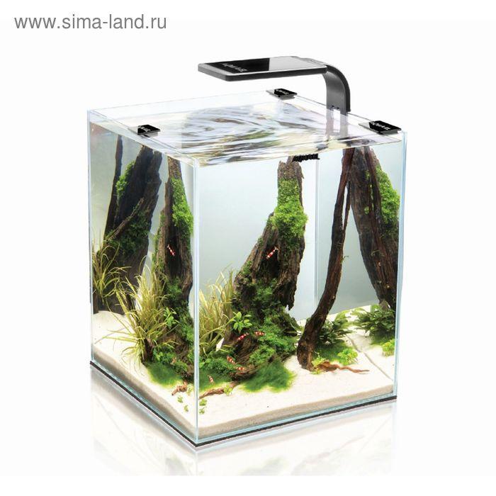 Креветкариум AquaEL SHRIMP SET SMART PLANT 10 (черный),  с LED освещением (3 вт)