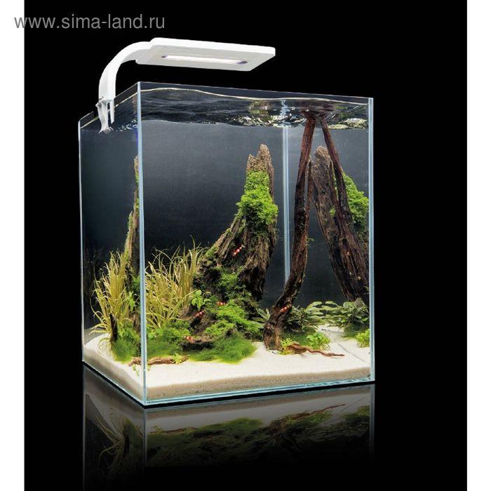 Креветкариум AquaEL SHRIMP SET SMART PLANT 30 (белый), с LED освещением (6 вт)