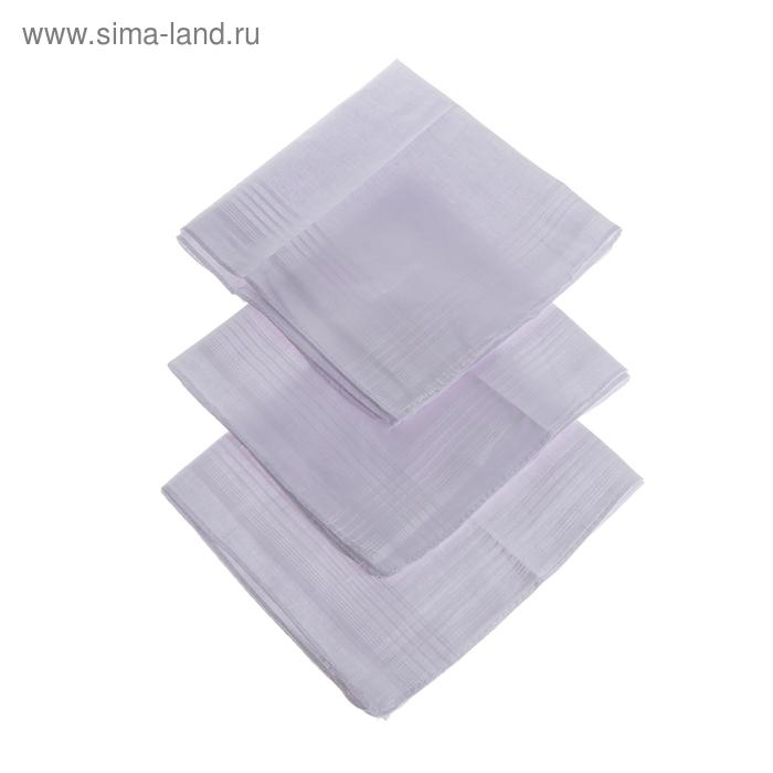Платки носовые мужские Сезанн Клетка 38*38 см,(набор 12 шт,) цвет белый 100% хлопок