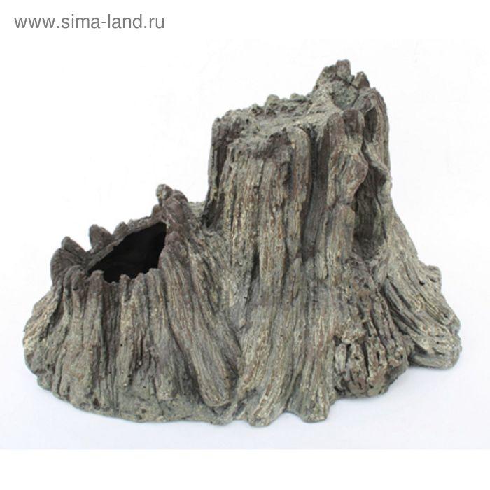 Грот-вулкан Resin Volcano 5153 (AquaEl) для AirLight (26x13x15,5 см.) серый (202094)