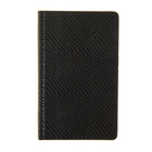 Ежедневник недатированный формат А6, 80 листов, линия, Рептилия черный