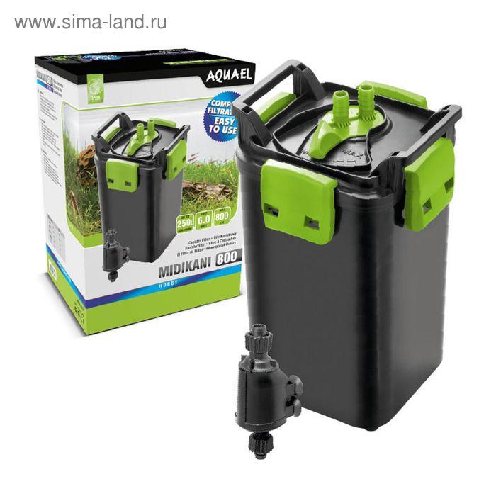 Фильтр внешний канистровый Aquael MIDI KANI 800 6 W, 800 л./ч.,акв.  до 250 л