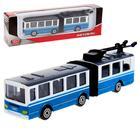 Автобус/трллейбус с резинкой 12см, МИКС