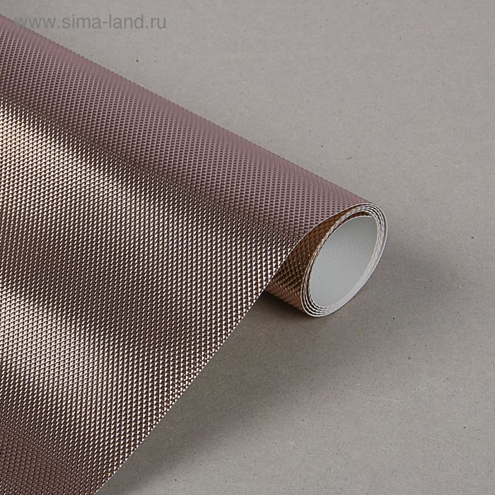 Коврик противоскользящий 30х90 см, цвет розовое золото