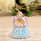 Сувенир-подвеска «Ангел», ярославская майолика