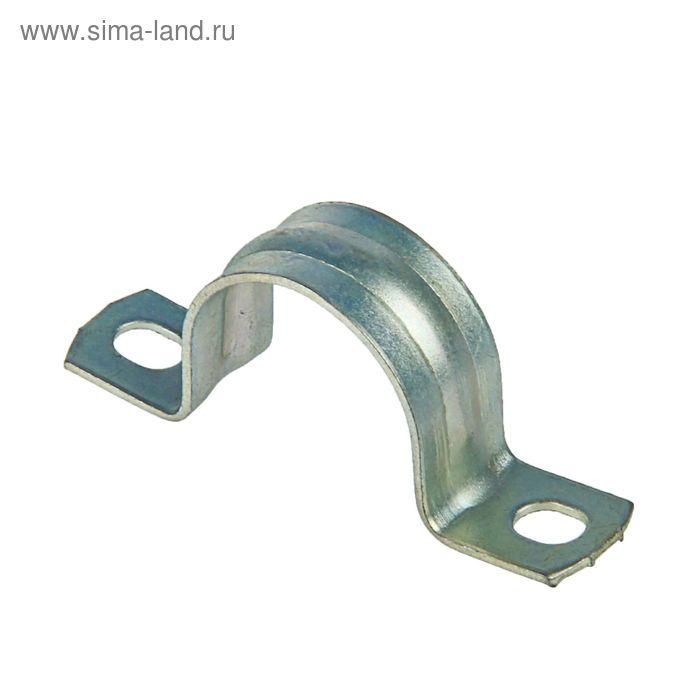 Скоба двухлапковая СМД 21-22, металлическая