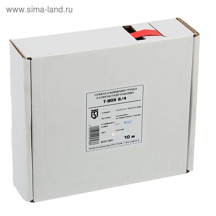 T-BOX 8/4, красный, 10 м