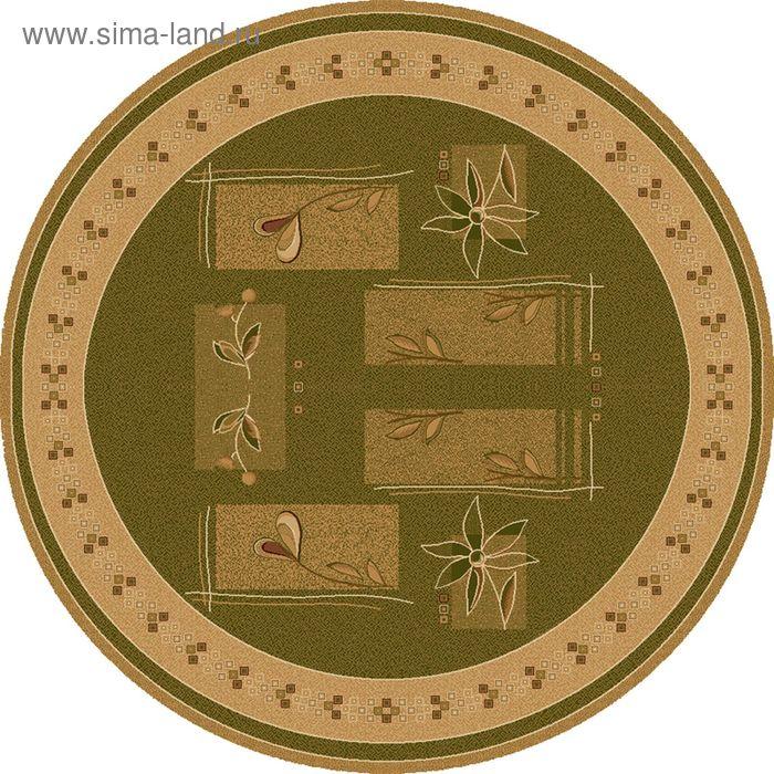 Ковёр круглый LAVANDA CLASSIC MODERN,  размер 150х150 см, рисунок 234/5542 0105