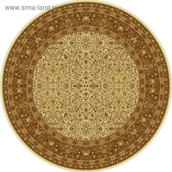 Ковёр круглый MAGIC CLASSIC,  размер 150х150 см, рисунок 287/1149 0105