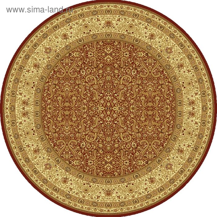 Ковёр круглый MAGIC CLASSIC,  размер 150х150 см, рисунок 287/3658 0105