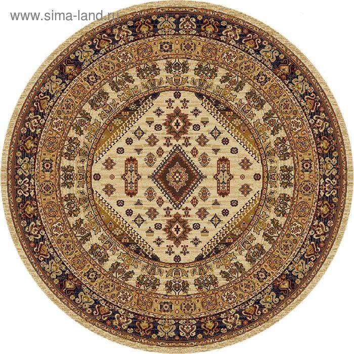 Ковёр круглый DARIUS-CLASSIC ELITE ANTIQUE,  размер 150х150 см, рисунок 736/61124 3105