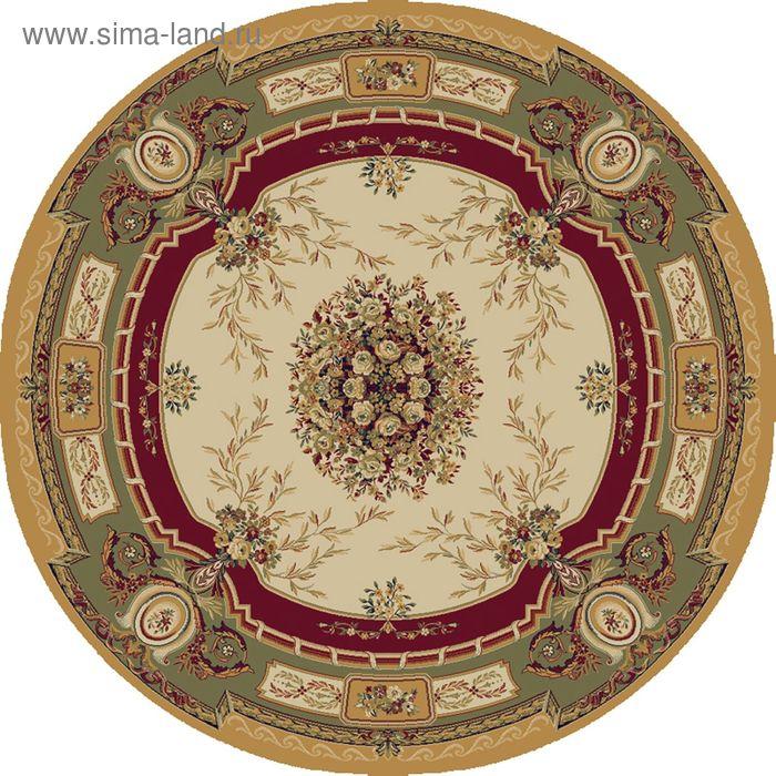 Ковёр круглый SOIR CLASSIC EUROPEAN,  размер 200х200 см, рисунок 151/1126 0105