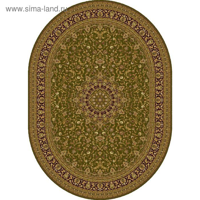 Ковёр овальный ISFAHAN ELITE CLASSIC,  размер 120х180 см, рисунок 207/65542 3105