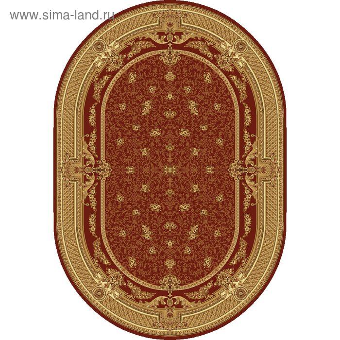 Ковёр овальный DOFIN EUROPEAN CLASSIC,  размер 120х180 см, рисунок 209/3658 0105