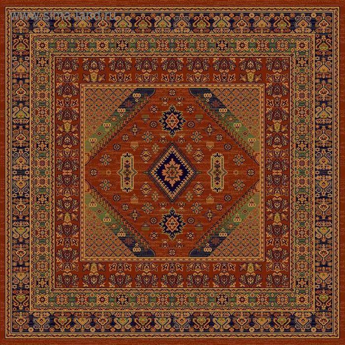 Ковёр квадратный DARIUS ELITE ANTIQUE,  размер 180х180 см, рисунок 436/60311 3102