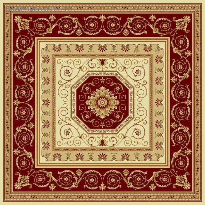 Ковёр квадратный ELLADA CLASSIC EUROPEAN,  размер 200х200 см, рисунок 172/1659 0102