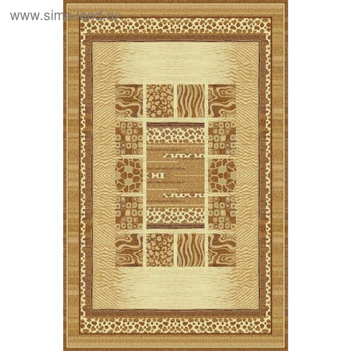 Ковёр CLASSIC SAFARI MODERN, размер 120х180 см, рисунок 013/1149, 0102