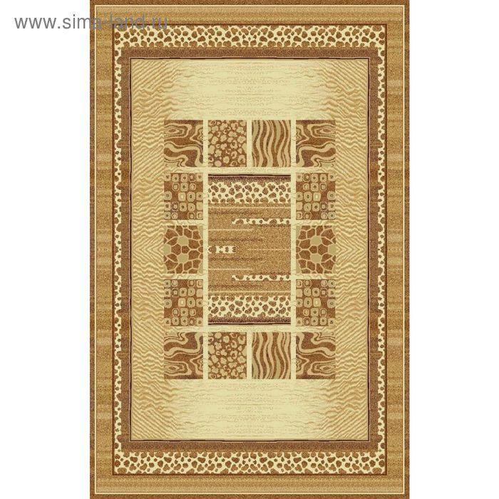 Ковёр SAFARI CLASSIC MODERN, размер 120х300 см, рисунок 013/1149, 0102