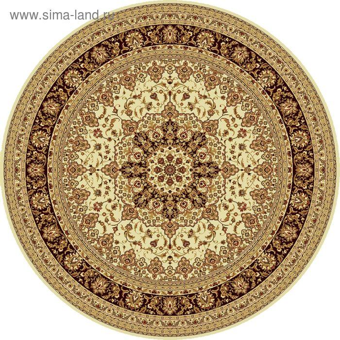 Ковёр круглый ISFAHAN CLASSIC,  размер 100х100 см, рисунок 207/1659 0105