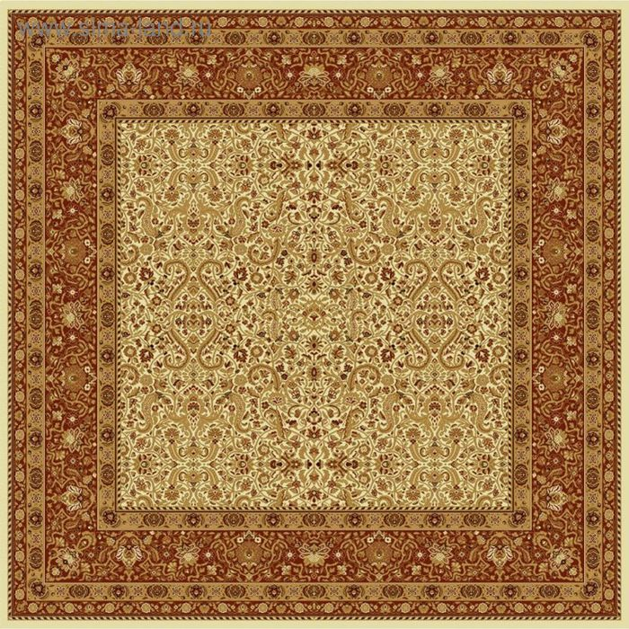 Ковёр квадратный MAGIC CLASSIC,  размер 300х300 см, рисунок 287/1659 0102