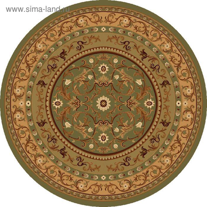 Ковёр круглый ERMITAGE ELITE EUROPEAN,  размер 100х100 см, рисунок 265/65542 3105