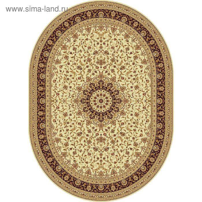 Ковёр овальный ISFAHAN CLASSIC,  размер 200х300 см, рисунок 207/1659 0105