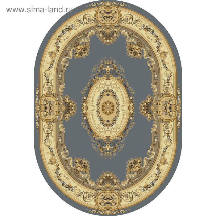 Ковёр овальный BUSHE CLASSIC EUROPEAN,  размер 200х300 см, рисунок 210/4544 0105