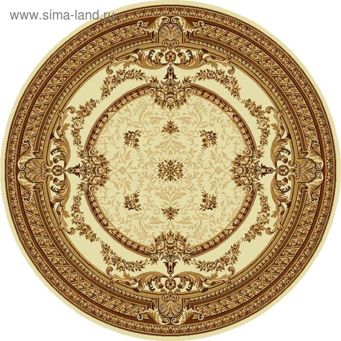 Ковёр круглый DOFIN CLASSIC EUROPEAN,  размер 200х200 см, рисунок 209/1149 0105