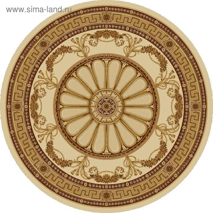 Ковёр круглый ELITA R ELITE EUROPEAN,  размер 200х200 см, рисунок 352/61149 3105