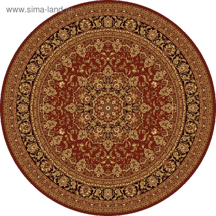 Ковёр круглый ISFAHAN CLASSIC,  размер 250х250 см, рисунок 207/3658 0105