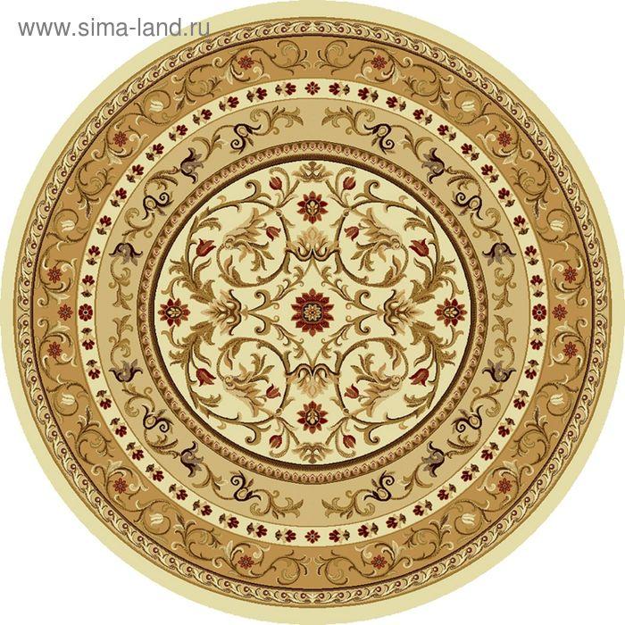 Ковёр круглый ERMITAGE CLASSIC EUROPEAN,  размер 250х250 см, рисунок 265/1659 0105