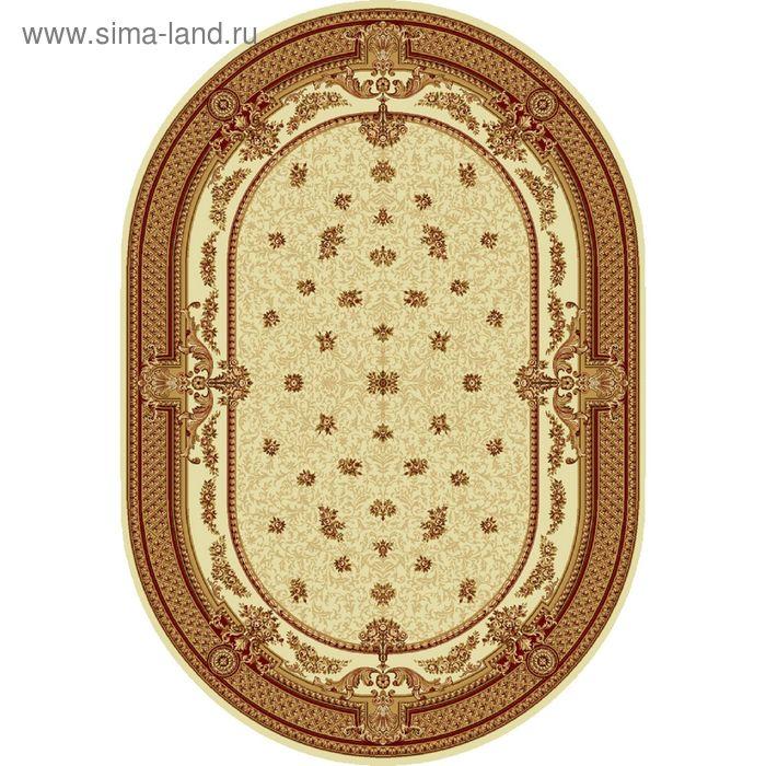 Ковёр овальный DOFIN CLASSIC EUROPEAN,  размер 150х300 см, рисунок 209/1659 0105