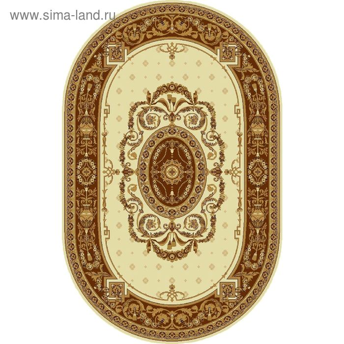 Ковёр овальный PALERMO CLASSIC EUROPEAN,  размер 150х225 см, рисунок 176/1149 0105