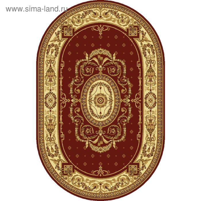 Ковёр овальный PALERMO CLASSIC EUROPEAN,  размер 150х225 см, рисунок 176/3658 0105